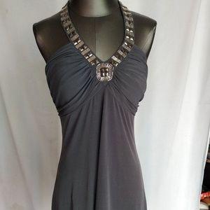 Spense Dresses - Spense charcoal summer dress. Size 10.